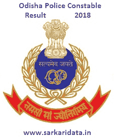 Odisha Police Constable Result 2018