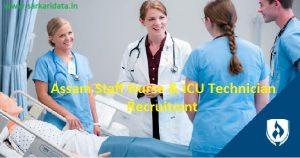 Assam Staff Nurse Recruitment