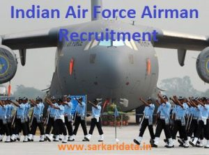 Indian Air Force Airman Recruitment