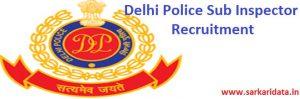 Delhi Police SI Recruitment